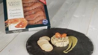 Grand Krust Recipe - Steak Tartar With King Prawns And Tarragon Sauce