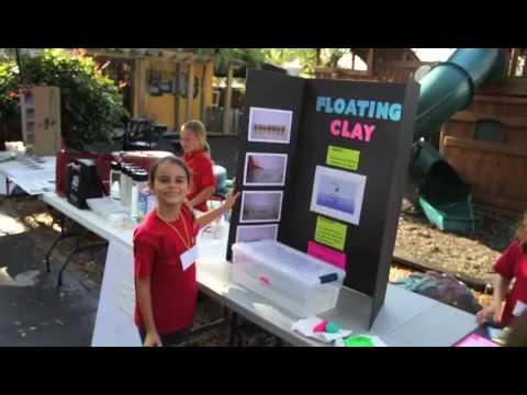 Le Petit Papillon Montessori School Miami Beach Science Fair 2014