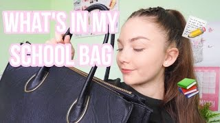WHAT'S IN MY SCHOOL BAG| YEAR 10 STUDENT| Floral Sophia
