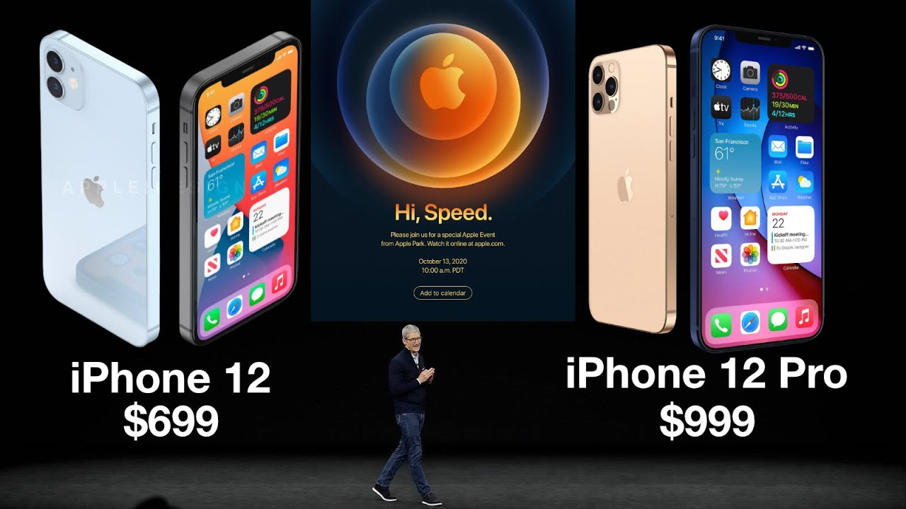 Apple iPhone 12 Event October 13th - Everything We Know!