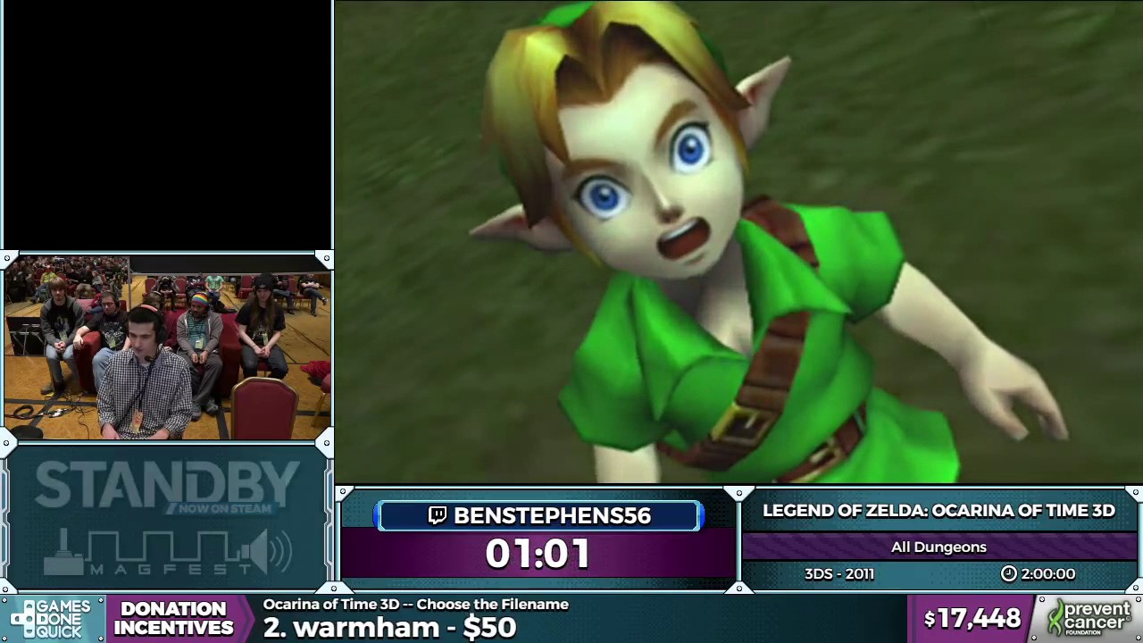 Loz Ocarina Of Time 3d By Benstephens56 In 1 57 23