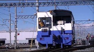 【東武鉄道】アント牽引ヨ5000形(ヨ13785)