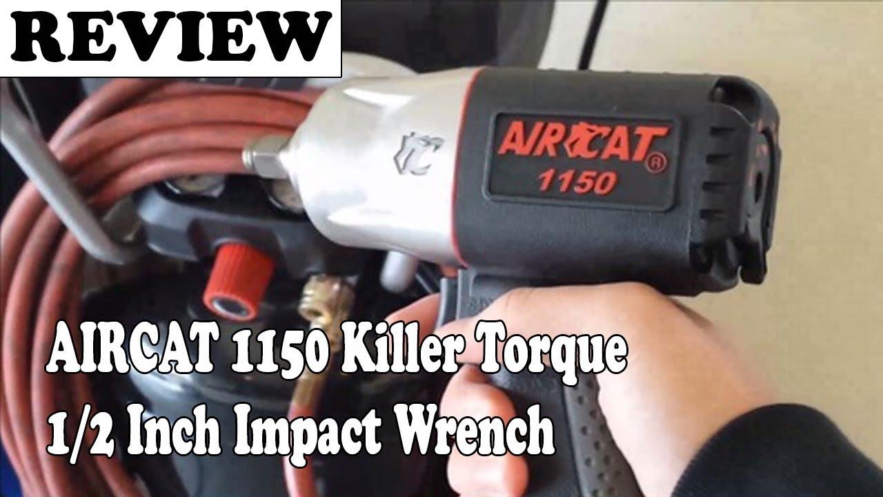 AIRCAT 1150 Killer Torque 1//2-Inch Impact Wrench