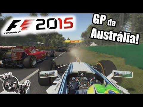 F1 2015 Carreira! GP da Austrália! G27+swe27