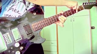 Muscle Museum - Muse Guitar Cover by Luca Nisi Glastonbury Version