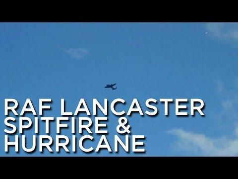 2010-09-11 'RAF Lancaster, Spitfire & Hurricane'