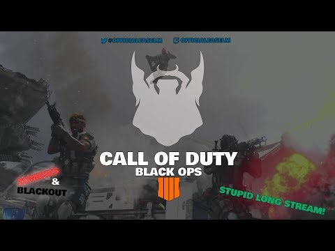 Call of Duty: Black Ops 4 | LONG STREAM | PC | Zombies | Blackout BR (Battle Royale) | Multiplayer thumbnail