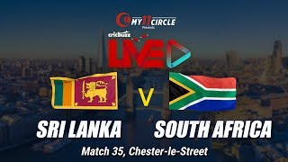 Cricbuzz LIVE: Match 35, Sri Lanka v South Africa, Pre-match show