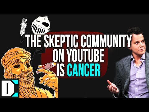 The Skeptic Community on YouTube are Just Fence-Sitting Cowards