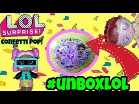NEW LOL CONFETTI POPS! SERIES 3 TOTS | HEAT COLOR CHANGE REVEALED | UNBOXING NEW LOL DOLLS