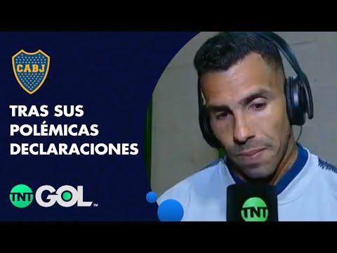 Tevez le pidió disculpas a los hinchas de Boca por sus polémicas declaraciones contra Guillermo