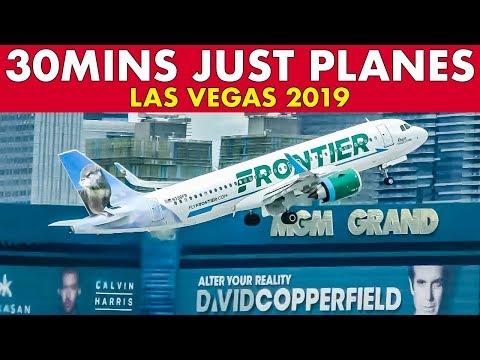 Fabulous Views LAS VEGAS Plane Spotting (30 Mins)