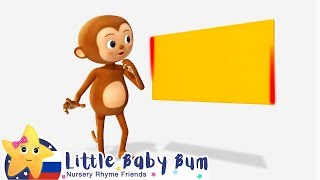 Изучаем прямоугольник   Мои первые уроки   Детские песни   Little Baby Bum