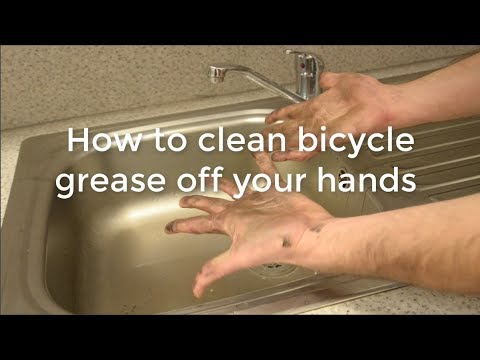 How To Clean Bicycle Grease Off Your Hands You