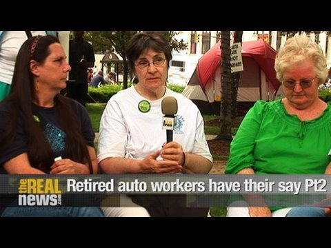 Retired auto workers have their say Pt.2