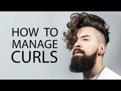 Tips For Guys With Curly Hair