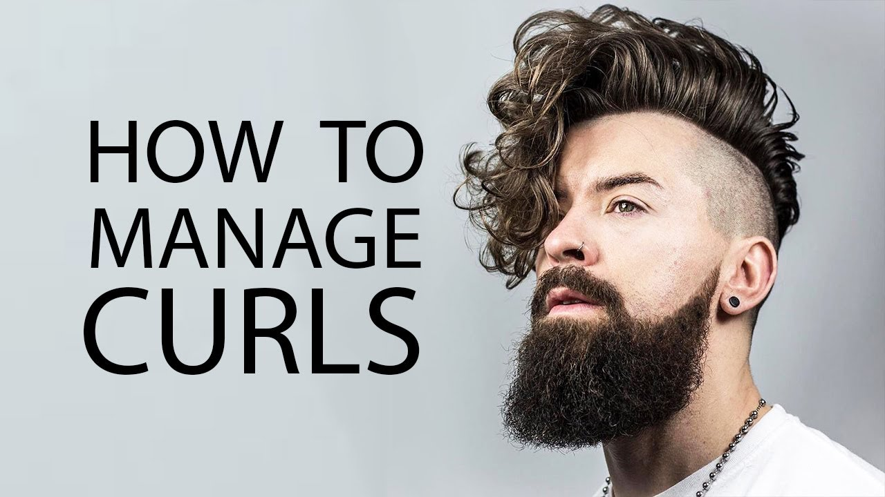 ways to style short hair men 5 tips for guys with curly hair how to style curly or 1497 | maxresdefault