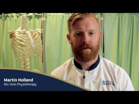 Student Profile: Martin Holland - BSc Physiotherapy