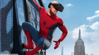 Spiderman Homecoming VR Experience Oculus Rift & Oculus Touch Gameplay - Virtual Reality