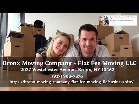 Bronx Moving Company - Flat Fee Moving LLC | Moving Companies Bronx | Long Distance Movers