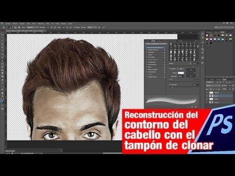 Tutorial Photoshop // Reconstruir pelo recortado by @ildefonsosegura