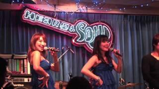 清水まりさんと渡辺かおるさんのハート&ソウルでのスペシャルライブの...
