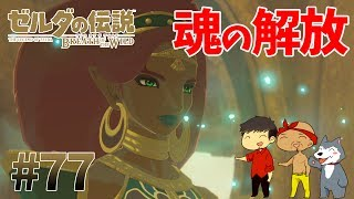 【任天堂スイッチ】ゼルダの伝説#77 ヴァナボリスと共にウルボザの魂を解放せよ【生声実況】