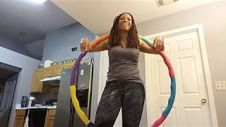 Hula Hooping & Squatting I Better Body Crew Home Workout