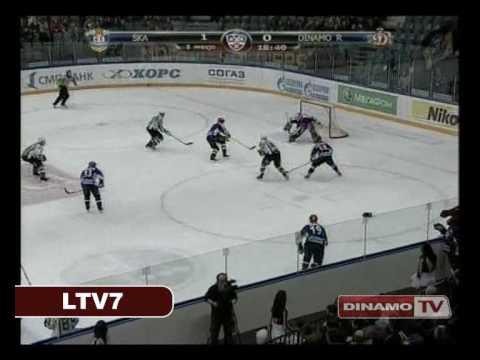 [KHL] Dinamo Riga vs. SKA (11.03.10)