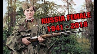Video Beautiful Russian Female Military Parade 1941 - 2018 download MP3, 3GP, MP4, WEBM, AVI, FLV Oktober 2018
