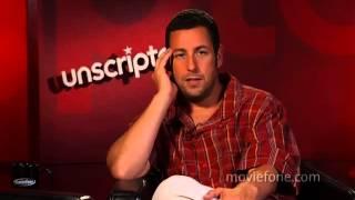 'Funny People | Unscripted | Adam Sandler, Seth Rogen, Leslie Mann