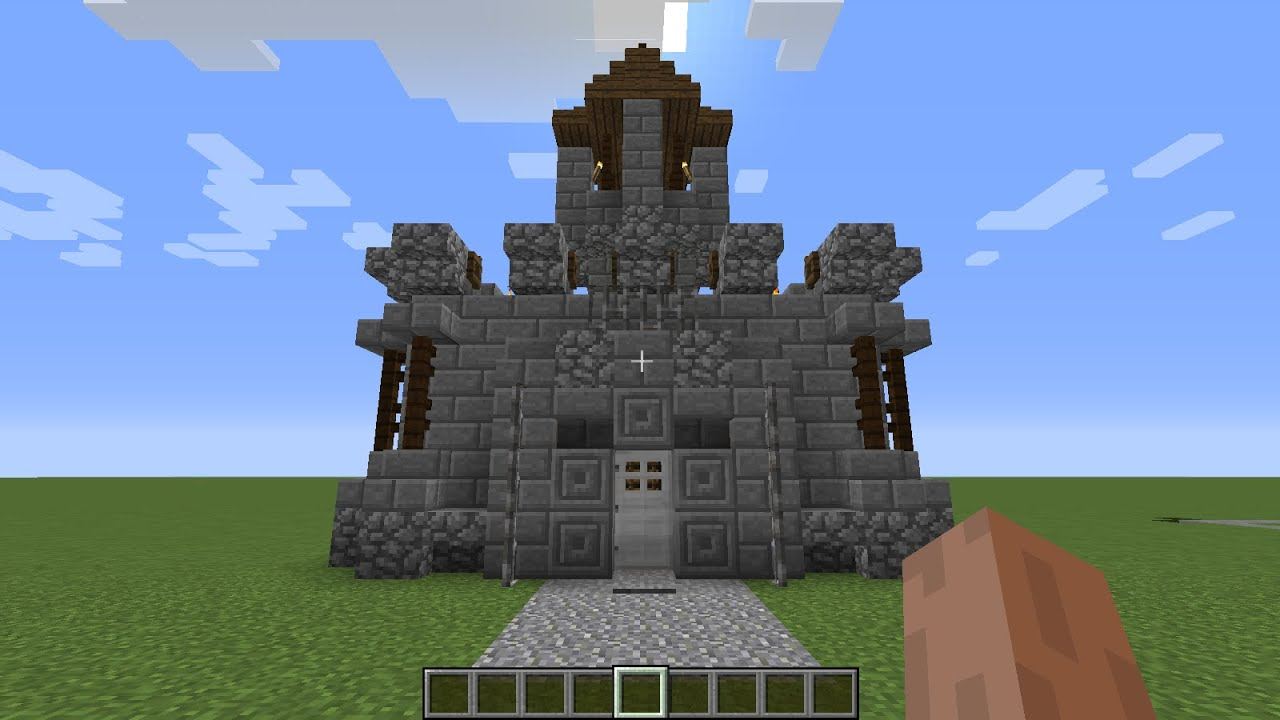 How To Build A Cool Fort In Minecraft Pe
