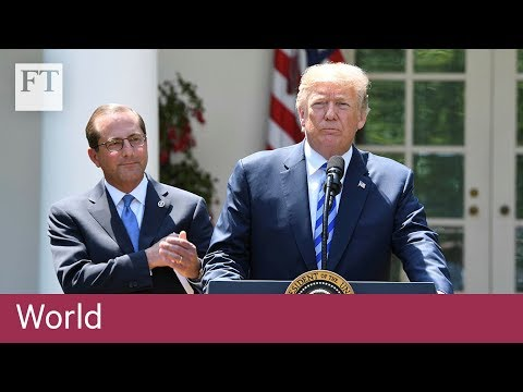 Trump blames foreign countries for high drug prices