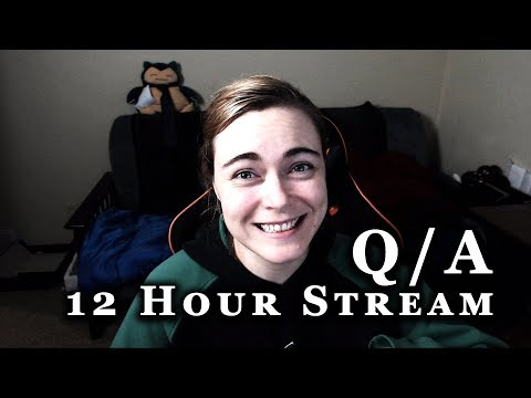 Lilia's First 12 Hour Stream: Part 1 - Q&A