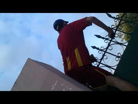 Tai nạn khi leo rào (nên cân nhắc trước khi xem)