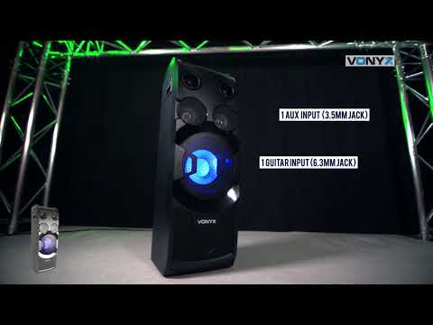 Vonyx PLAY1000 Active Party Speaker 400W  178.382