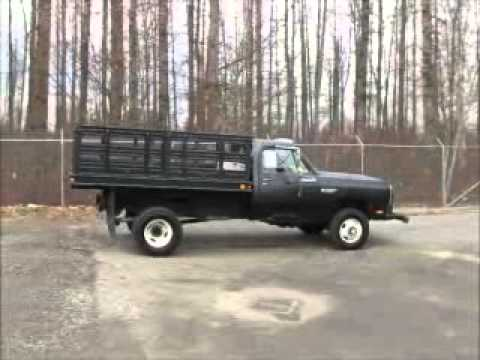 Sold Dodge Ram 3500 4x4 Flatbed Dump Truck 9 Ft Utility