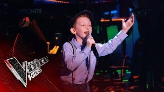 Caillin Joe Performs 'Irish Rover' | Blind Auditions | The Voice Kids UK 2019