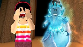 RAINHA DO GELO VAI TE PEGAR!!! - ROBLOX (DESTROY THE SNOW QUEEN)