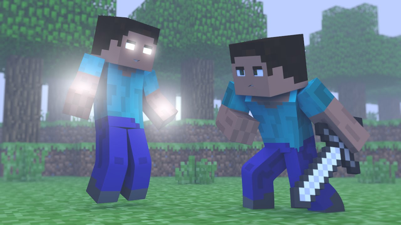 Minecraft Steve Vs Notch Vs Herobrine