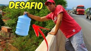 O MELHOR DESAFIO DA GARRAFA | WATER BOTTLE FLIP
