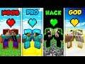 Minecraft NOOB vs. PRO. vs. HACKER vs. GOD: LOVE LIFE in Minecraft! (Animation)