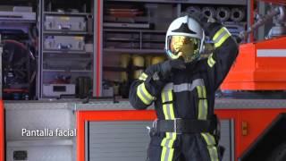 Casco De Bomberos Gallet F1 Xf: Utilización