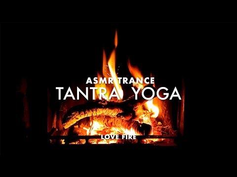 Tantra Yoga Trance Music | Deep Sleep Hypnosis for Positive Energy Transformation || ∞ Love Fire