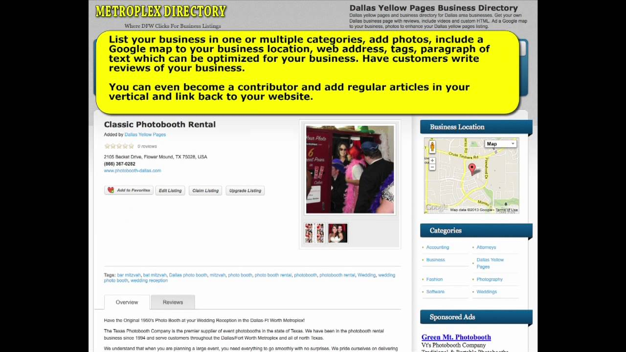 Dallas Yellow Pages | Dallas Business Directory | Dallas Yellow Pages