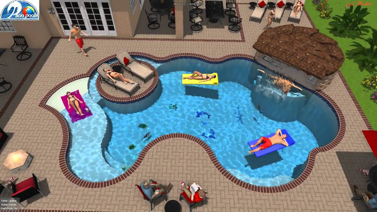 Lovely Patio Pools Tampa Florida Est. 1979 Custom Inground Swimming Pool Builder /  Contractor   YouTube