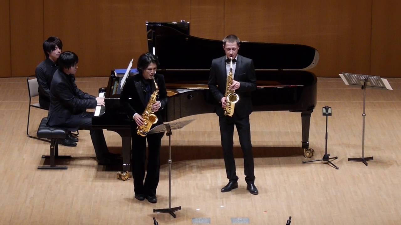 Nikita Zimin&Yo Matsushita Carnaval de Venise saxophone