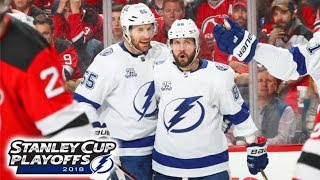 Dave Mishkin calls Lightning highlights from win over Devils (2018 Playoffs, Game 4)