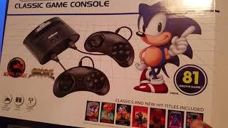 Sega Genesis classic game console (Family Dollar)