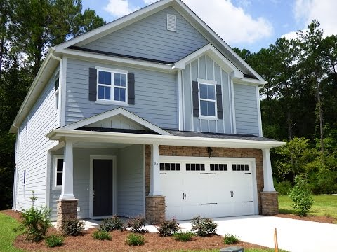 Hampton Lake Bluffton New Home Arbors Berkeley Model